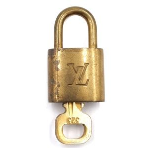 Gold Lock Keepall Brass and Key Set #323 Bag